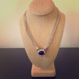 Jewelry - Joseph Esposito Sterling Silver 5 Strand Necklace